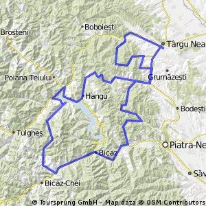 Traseu la munte cu bicicleta 10-12.05.2013