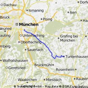 Von Tuntenhausen nach München/Neuperlach