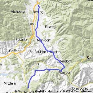 UNSER LAND Wolfsberg - Bleiburg