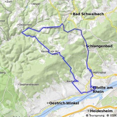 Eltville - Niedergladbach - Eltville