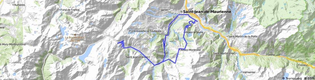 Col de la Croix de Fer via Col du Mollard