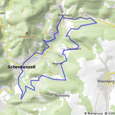 Schenkenzell-Fräulinsberg-Reilinsberg