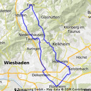 Giro Hattersheim Tour 3 / 77 km