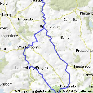 Naundorf- Lichtenberger Talsperre-Naundorf