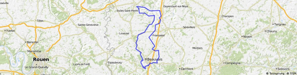 circuit frocourt-conty-frocourt