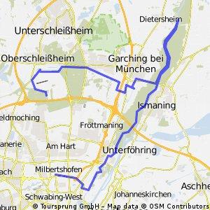 Schwabing - Isar -  Schleissheim