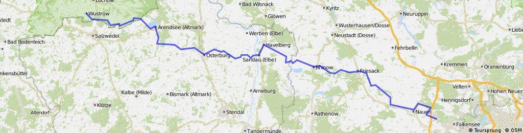 Wustrow (Wendland)-Brieselang (Berlin)