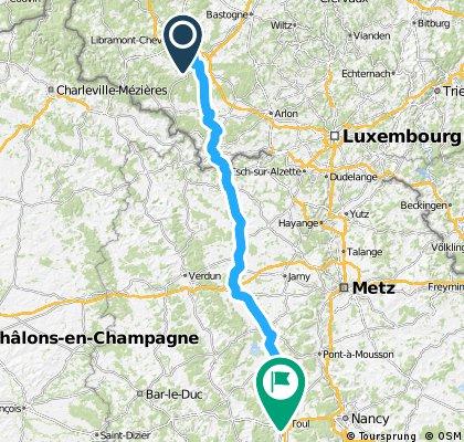 3e deel 150km La Basse Vaivre