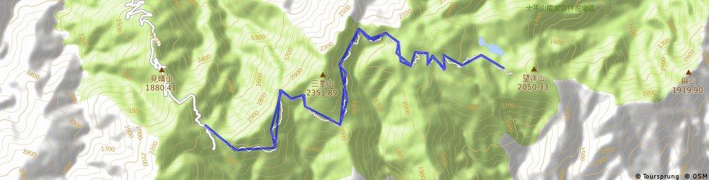 太平山(管制站-翠峰湖)