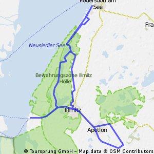 Zum tiefsten Punkt Österreichs und Nationalpark Neusiedlersee