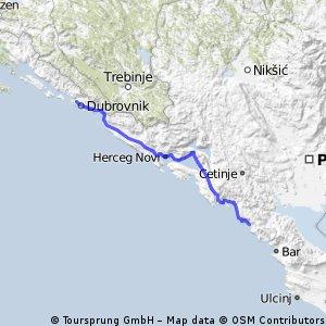 Dubrovnik - Buljarica