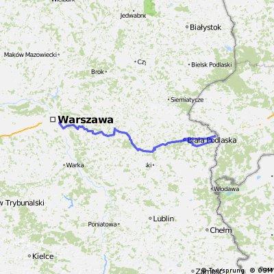 Warszawa Siedlce - Terespol