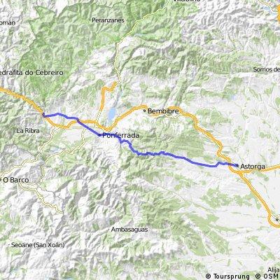 10 Tappa: Astorga-Villafranca del Bierzo
