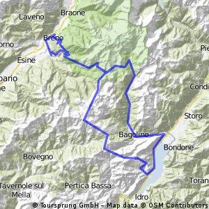 Croce Domini - Spina - Maniva - Giogo della Bala (111 km, 3750 Hm)