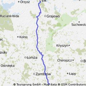 Szepietowo - Ełk
