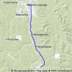 PRINCE GEORGE TO 10 MILE