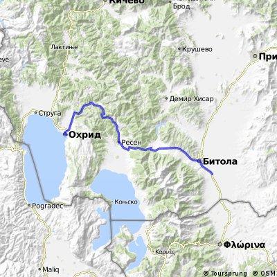 Ohrid - Bitola