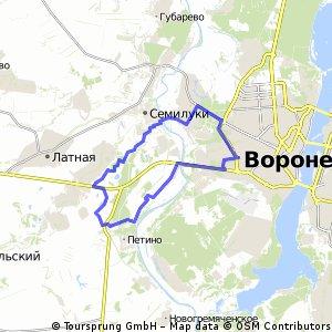 Меловые озёра, БК, Орловка
