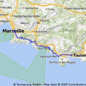 EV8.3 Marseille-Toulon