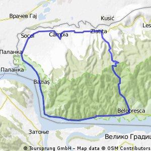 La intrarea Dunarii in tara