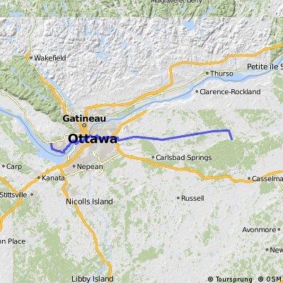 CD-QC Gatineau to Quebec City 1.0 - Gatineau to Bourget