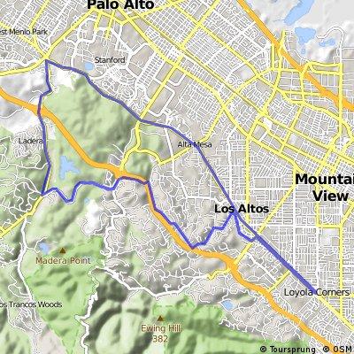 Skyline Ladera Sunday Ride