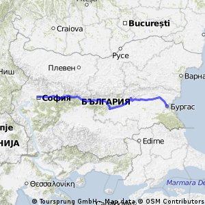 София - Бургас
