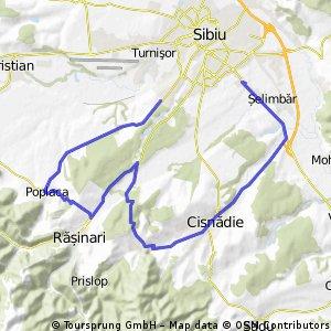Selimbar Cisnadioara Poplaca Saliste - retur