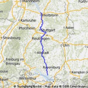 [ABX2013] Tag1 Neckarsulm Friedrichshafen 236 Km