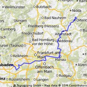 Radtour 2013 Tag 1 Abschnitt 2