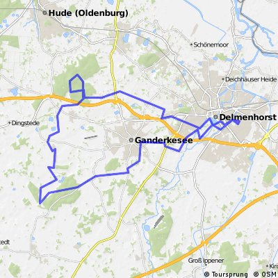 Stüher Wald - Hasbruch Route