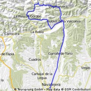 León-La Vid-Llombera-Robles