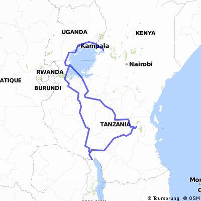 Uganda and Tanzania