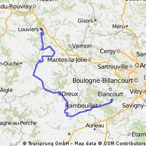 1801 Louviers - Cernay-la-Ville