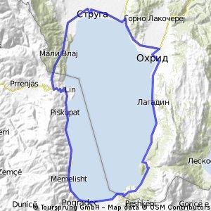 Околу охридско езеро