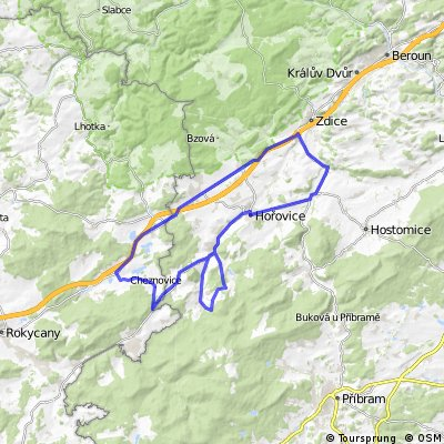 Okolo Brd: Hořovice - Lochovice - Cerhovice