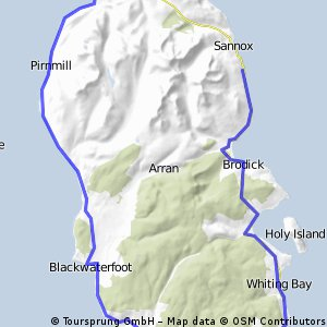 Day 3 Arran to Orkney: round Arran