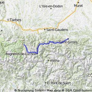 Etape 1 : Saint-Girons - Arreau