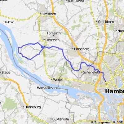 DE Hamburg - Runde an den Deich