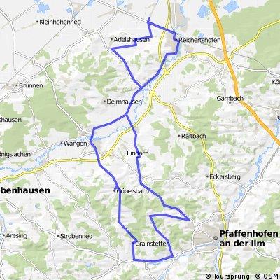 Karlskron-Hohenwart-Mitterscheyern-Tegernbach-Reichertshofen