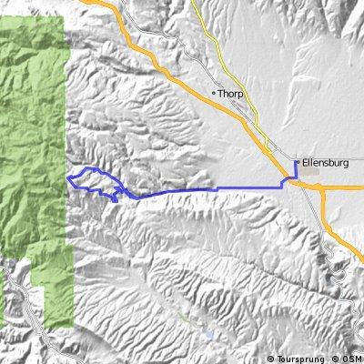 Manastash Creek and Ridge Climb
