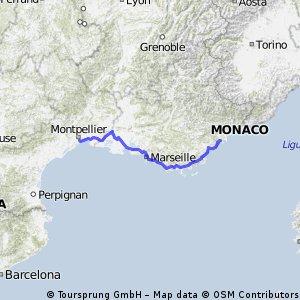 3 Palavas-les-flots, Martigues, Le Rove, Marseille, Cassis, Toulon, La Garde,  Port Grimaud, Saint Aygulf,  Miramar, Cannes