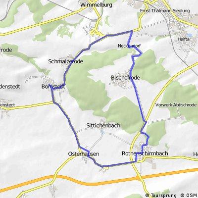 Bornstedt-Rothenschirmbach(Gewerbegebiet)-Bornstedtüber Wolferode