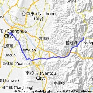 from Chang Hua to Bai Mao Shan