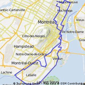 Tours de l'île 50km