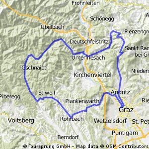 Graz - Martinelli - Eggartsberg - Graz