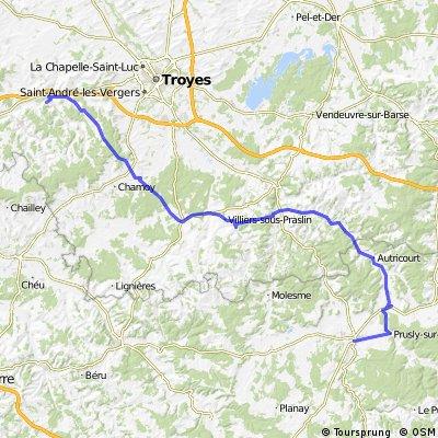 3eme étape -  Châtillon-sur-Seine / Estissac