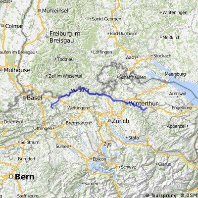 Eschlikon Rothenfluh direct train