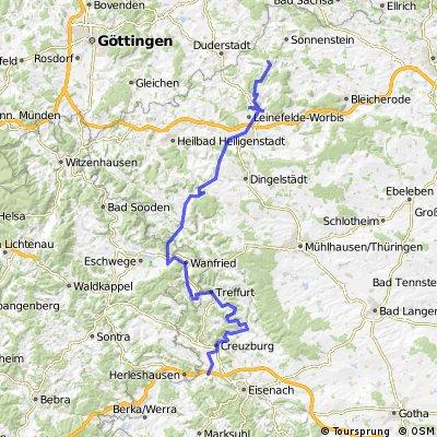 Harz-Eichsfeld-Rennsteig 2. Tag