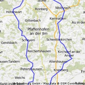 Karlskron-Röhrmoos-Schweitenkirchen-Wolnzach-Karlskron